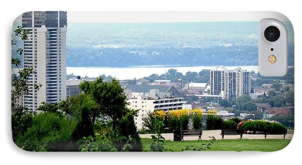 IPhone Case featuring the photograph Hamilton Downtown View From  by Danielle  Parent