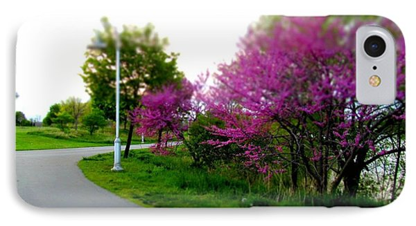 IPhone Case featuring the photograph Hamilton Harbor Front Pretty In Pink by Danielle  Parent