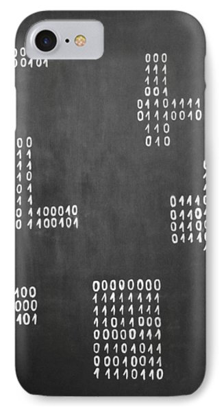 Hamlet - Binary Painting By Marianna Mills IPhone Case by Marianna Mills
