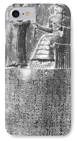 Hammurabi, Babylonian King And Lawmaker IPhone Case by Photo Researchers