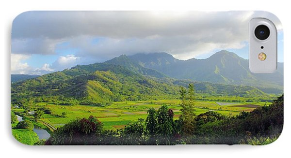 Hanalei Valley View Phone Case by John  Greaves
