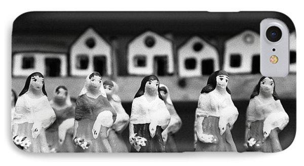 Handpainted Figurines Phone Case by Gaspar Avila