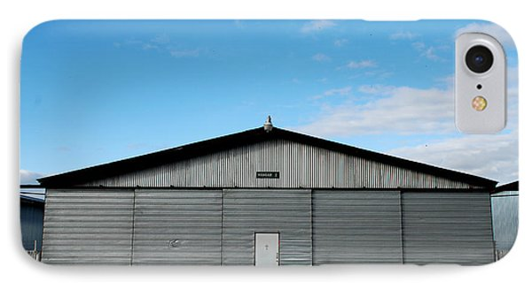 IPhone Case featuring the photograph Hangar 2 The Building by Kathleen Grace