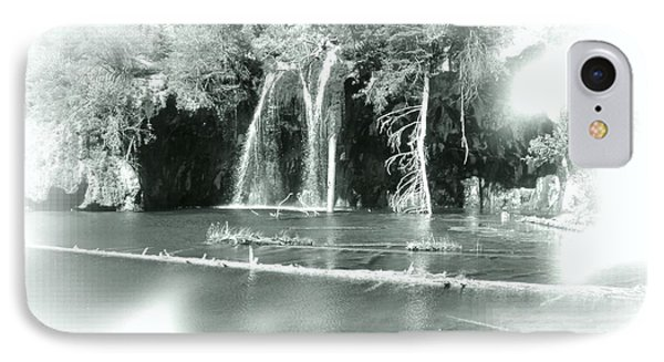 Hanging Lake IPhone Case by Ellen Heaverlo