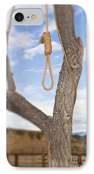 Hangman Noose In A Tree IPhone Case by Bryan Mullennix