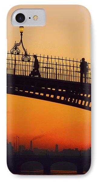 Hapenny Bridge, Dublin, Co Dublin Phone Case by The Irish Image Collection