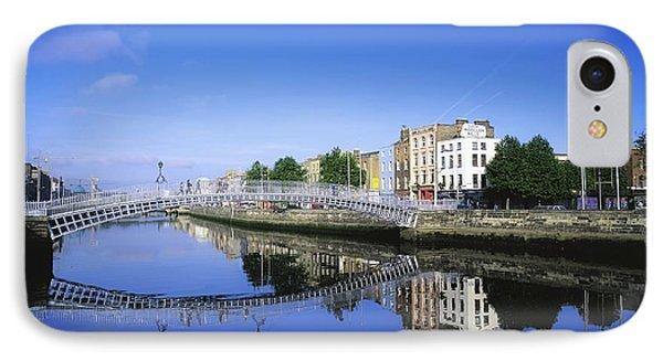 Hapenny Bridge, River Liffey, Dublin Phone Case by The Irish Image Collection