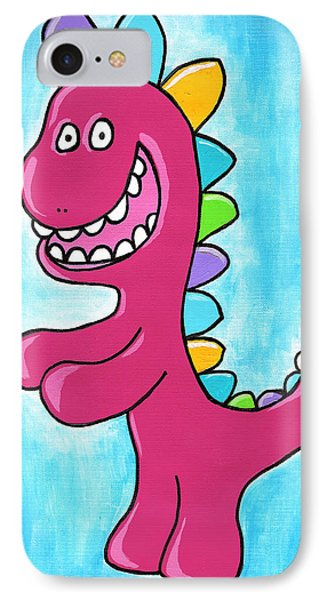 Happosaur Phone Case by Jera Sky