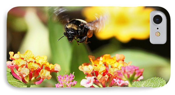 IPhone Case featuring the photograph Happy Bee by Luana K Perez
