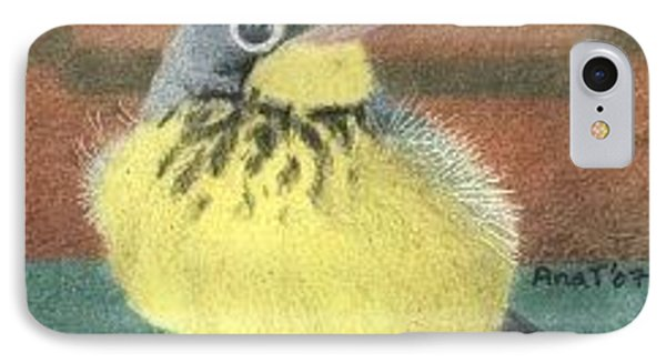 Happy Birdie - Aceo IPhone Case by Ana Tirolese