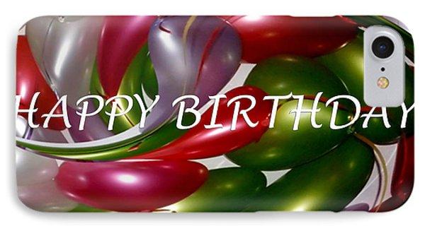 Happy Birthday - Balloons Phone Case by Kaye Menner