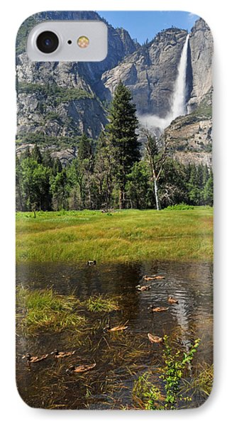 IPhone Case featuring the photograph Happy Campers by Lynn Bauer