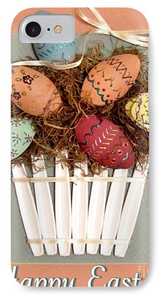 Happy Easter Phone Case by Marilyn Smith