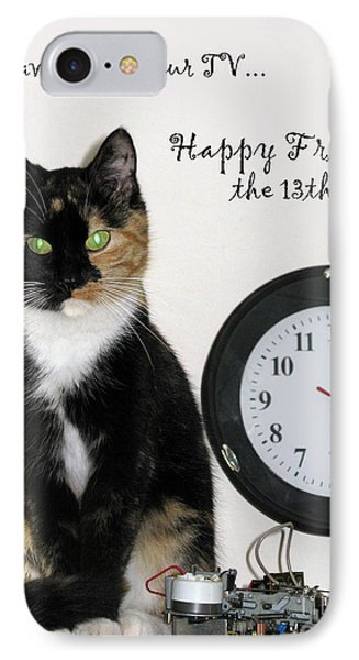 IPhone Case featuring the photograph Happy Friday The 13th by Ausra Huntington nee Paulauskaite