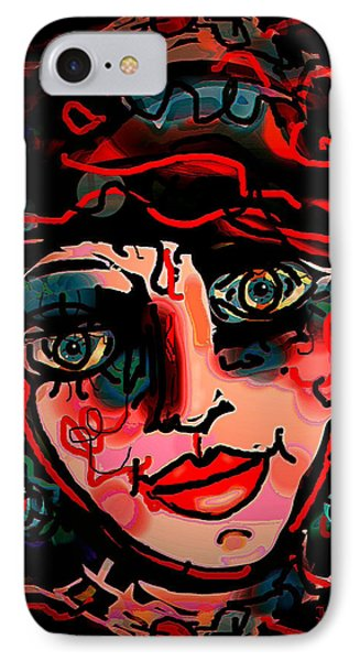 Happy Girl Phone Case by Natalie Holland