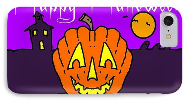 Happy Halloween 2 Phone Case by George Pedro