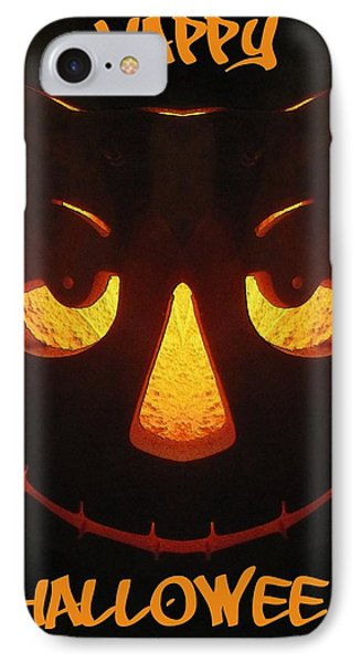 Happy Halloween IPhone Case by Tim Allen