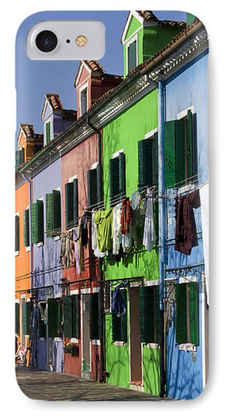 Happy Houses IPhone Case by Raffaella Lunelli