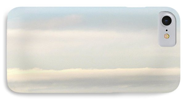 IPhone Case featuring the photograph Harbor Cranes In Fog by Sean Griffin