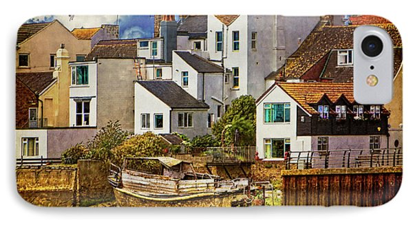 Harbor Houses Phone Case by Chris Lord