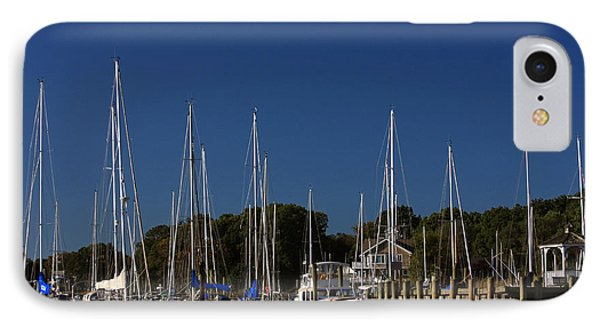 Harbor View Phone Case by Karol Livote
