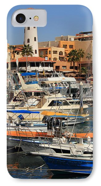 Harbor Waterfront In Cabo San Lucas Phone Case by Roupen  Baker