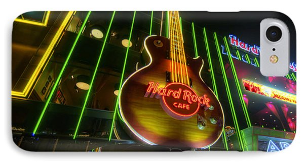 Hard Rock Cafe - Las Vegas IPhone Case by Yhun Suarez