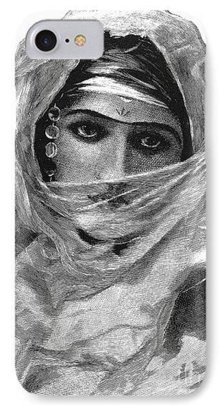 Harem Woman, 19th Century Phone Case by Granger