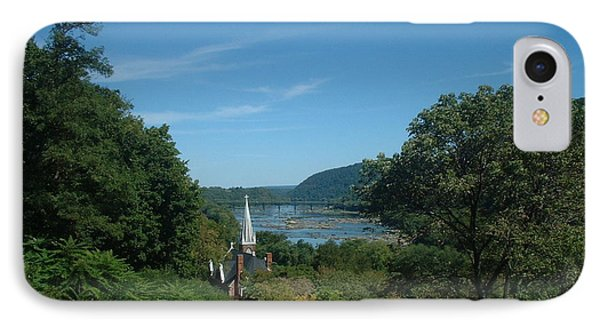 Harper's Ferry Long View IPhone Case by Mark Robbins