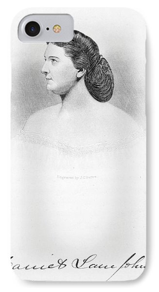 Harriet Lane Johnston Phone Case by Granger