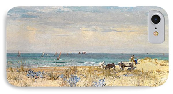 Harvesting The Land And The Sea Phone Case by William Lionel Wyllie