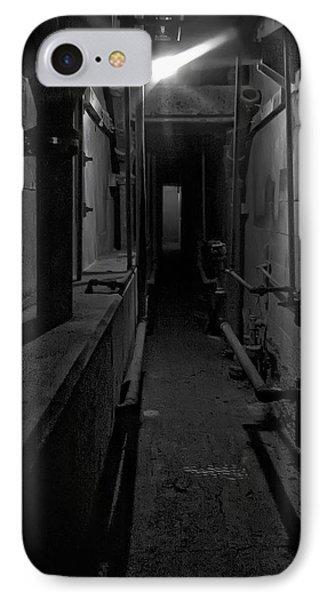 Haunted 1946 Battle Of Alcatraz Death Chamber Phone Case by Daniel Hagerman