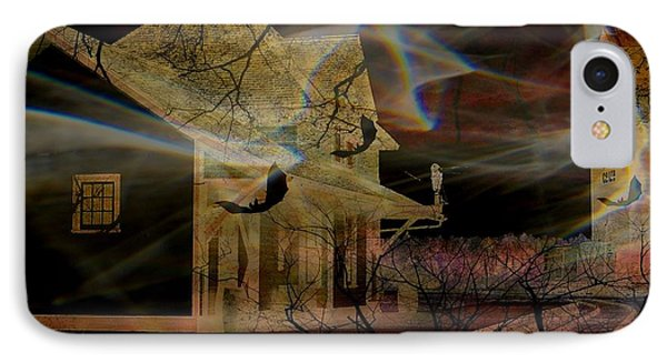Haunted Evening Phone Case by Shirley Sirois
