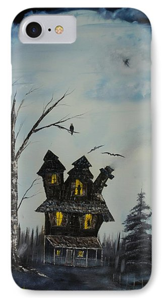 Haunted House 2007 Phone Case by Shawna Burkhart