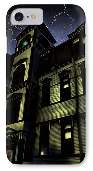 Haunted House Phone Case by Mark Sellers