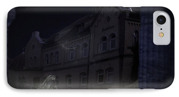Haunted House Phone Case by Nafets Nuarb