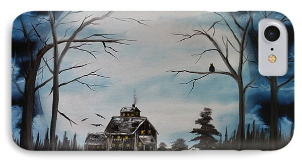 Haunted Mansion 2006 Phone Case by Shawna Burkhart