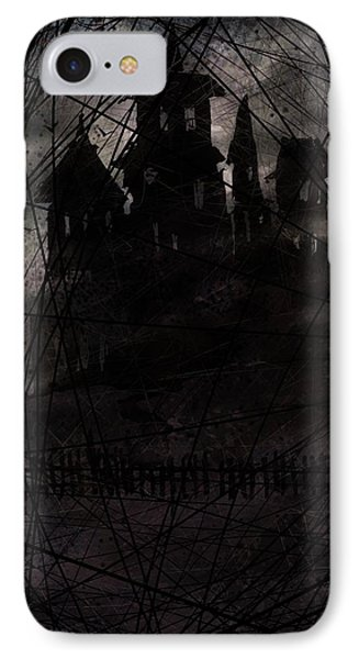 Haunted Phone Case by Rachel Christine Nowicki