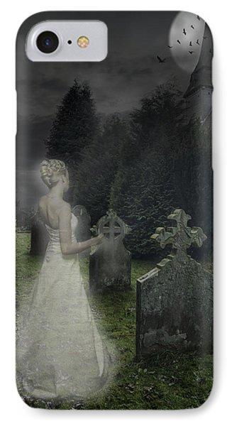 Haunting IPhone Case by Amanda Elwell