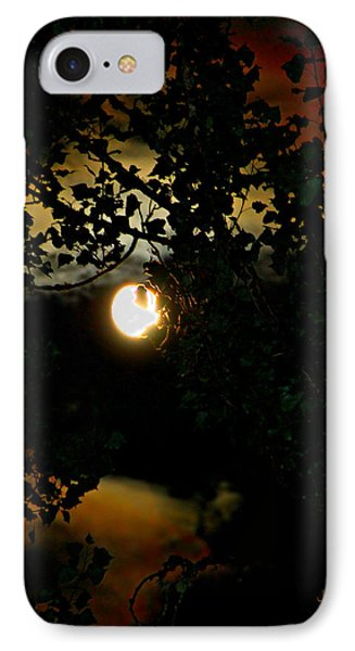Haunting Moon IIi IPhone Case by Jeanette C Landstrom