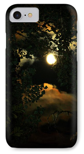IPhone Case featuring the photograph Haunting Moon by Jeanette C Landstrom