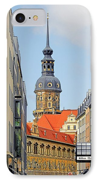 Hausmannsturm - Lookout Of A Castle With Stunning Views Phone Case by Christine Till