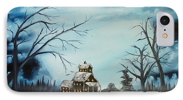 Hauted Mansion 2005  Phone Case by Shawna Burkhart