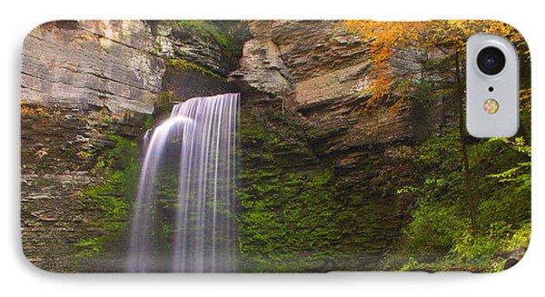 Havana Glen Waterfall IPhone Case by Cindy Haggerty