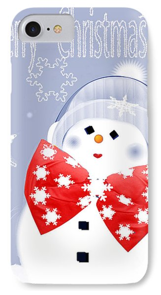 Have A Frosty Holiday Phone Case by Debra     Vatalaro
