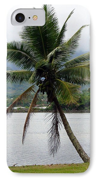 Hawaiian Palm IPhone Case by Athena Mckinzie