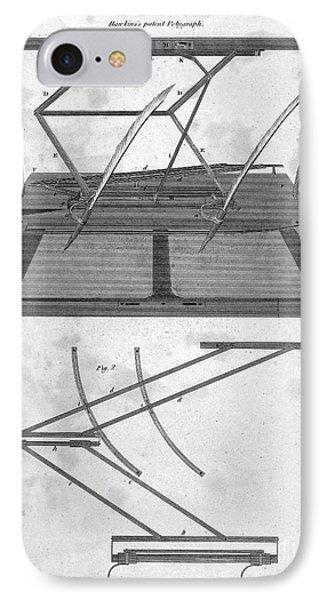 Hawkins Polygraph, 1803 Phone Case by Granger