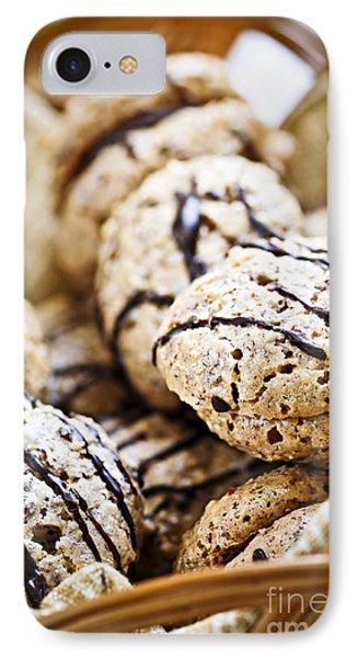 Hazelnut Cookies IPhone Case by Elena Elisseeva