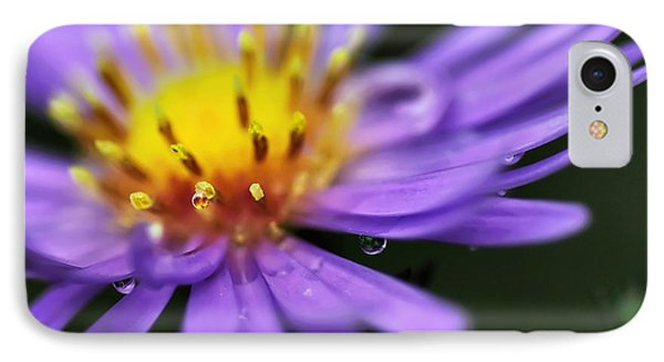 Hazy Daisy... With Droplets Phone Case by Kaye Menner