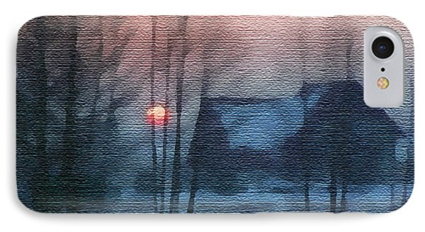 Hazy Winter Morning Phone Case by Anthony Caruso